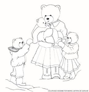 coloriage mamours et les oursons redim