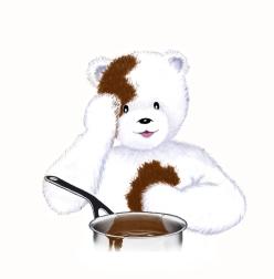 toudouk et la casserole de chocolat