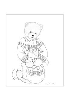 coloriage Pâques de Toudouk blog